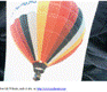 """my-Photo-of-a-hot-air-balloon-with-black-yellow-and-pink-stripes-with-a-flame-shooting-up-causing-it-to-rise-into-the-air"""